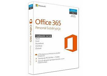 Office 365 Personal PL P2 1Y 1 Użytkownik /1 komputer PC lub Mac QQ2-00535. Stare SKU: QQ2-00075