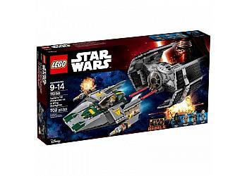 LEGO TIE Advanced vs. A- Wing Starf.