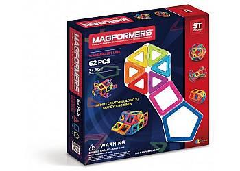 Klocki Magnetyczne 62 elementy