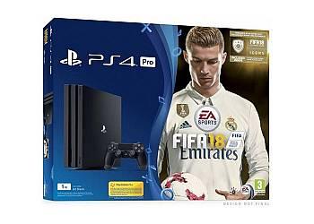 Playstation 4 1TB PRO + Gra FIFA 18