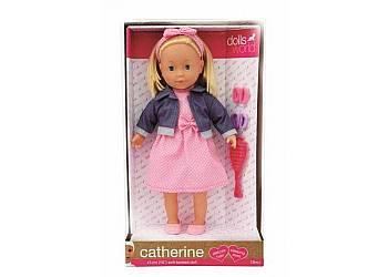 Lalka 41 cm Catherine jasne włosy