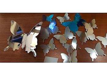 Motylkowe naklejki 3D!