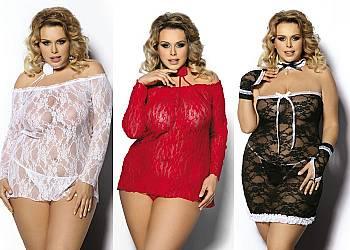 Ekskluzywna bielizna erotyczna Plus Size! Najwyższa jakość materiałów! 3 kolory!