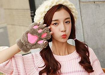 Rękawiczki – kocie łapki