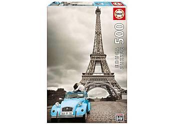 Puzzle 500 elementów, Paryż Wieża Eiffla