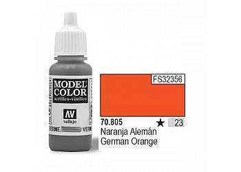VALLEJO Farba Nr23 Germa n Orange 17mlMatt