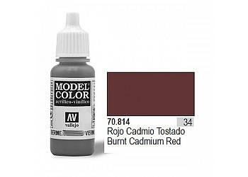 VALLEJO Farba Nr34 Cadiu m Umber Red 17mlMatt