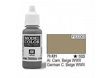 VALLEJO Farba Nr103 Germ an C.Beige 17mlMatt