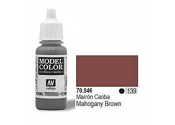 VALLEJO Farba Nr139 Maho gany Brown 17mlMatt