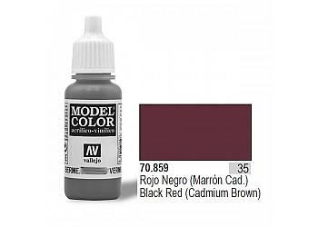 Farba Nr35 Black Red Matt 17ml