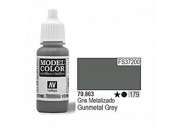 VALLEJO Farba Nr179 Gunm etal Grey 17mlMatt