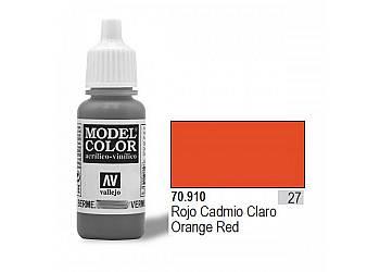 Farba Nr27 Orange Red Matt 17ml
