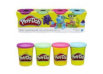 PlayDoh 4pak Bright Color
