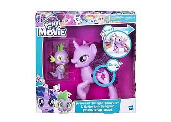 My Little Pony Twilight Śpiewająca ze Spikiem