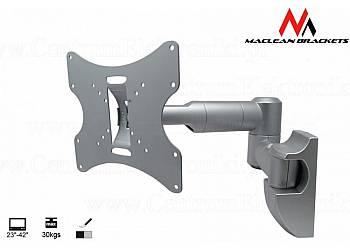 Uchwyt do monitora 23-42''  30 kg uniwersalny MC-503A S max vesa 200 srebrny