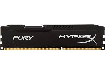 DDR3  Fury  4GB/ 1866 CL10 BLACK