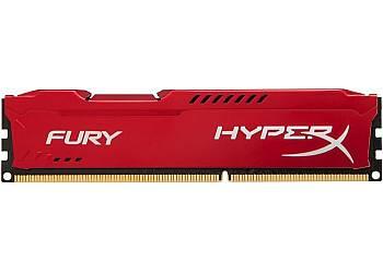 DDR3 Fury  8GB/ 1600 CL10 RED
