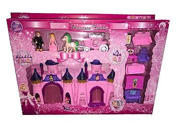Interaktywny zabawka-Zamek Księżniczki