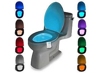 Podświetlana toaleta