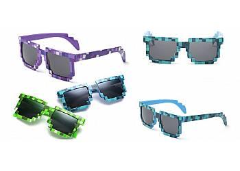 Okulary w stylu Minecraft!