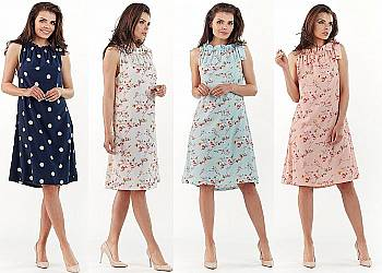 Letnia krótka sukienka
