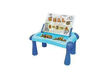 Stolik z tablicą magnetyczną