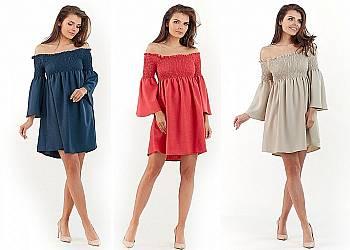 Oryginalna modna suknia
