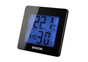 Termometr, wilgotnościomierz, zegar