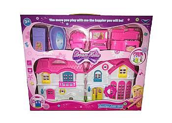 Interaktywny domek dla lalek