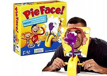 """Ekscytująca gra """"Pie Face"""""""