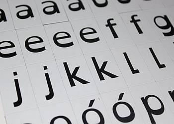 Alfabet dla dzieci dyslektycznych