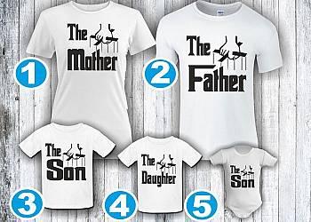 Rodzinne koszulki – Ojciec Chrzestny