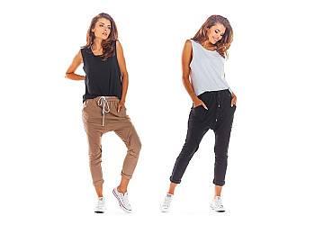 Spodnie damskie dresowe