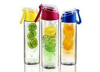 Butelka na wodę z wkładem na owoce