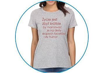 Zabawna koszulka