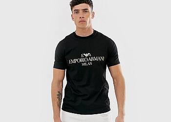 Koszulka męska EMPORIO ARMANI MILAN
