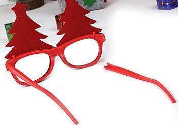 Okulary świąteczne
