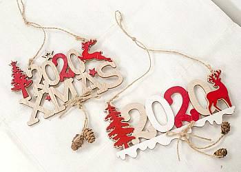 Drewniane dekoracje świąteczne