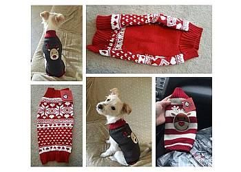 Świąteczny sweterek