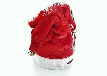 Grająca czapka Świętego Mikołaja