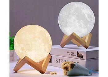 Księżycowa lampa 3D