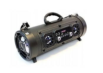 Cylindryczny głośnik Boombox