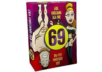 Ostra kamasutra - erotyczna, karciana gra 69 dla par. Poznajcie swoje najskrytsze fantazje i marzenia!