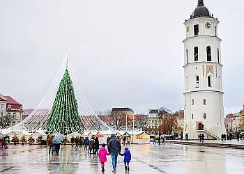 Jarmark świąteczny w Wilnie