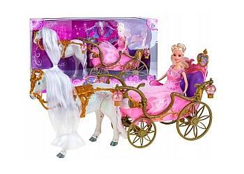 Chodzący Konik Dla Lalki Barbie