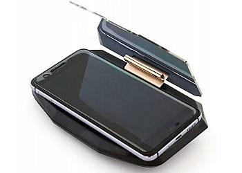 Wyświetlacz przezierny do smartfona HUD