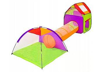 Tunel dla dzieci z domkiem