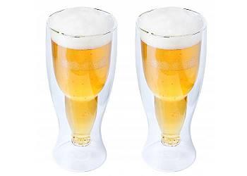 Dwuszybowe kufle do piwa