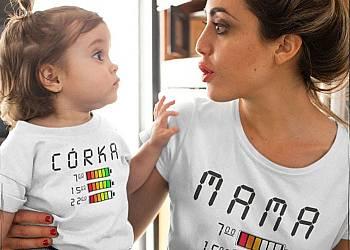 Koszulki mama córka