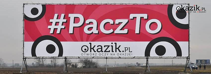 PaczTo - Okazik.pl na autostradzie A2
